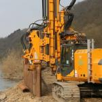 Máquinas para fundação