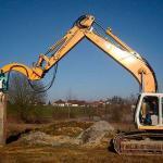 Martelo vibratório para escavadeira
